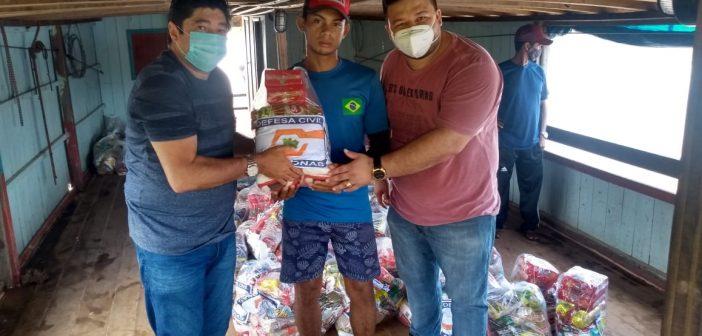 Visita do prefeito em Exercício e secretário de governo à comunidade Pernambuco