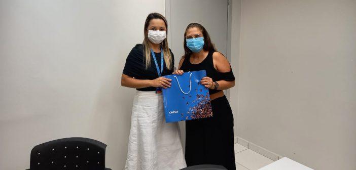 Prefeita de Ipixuna reune com Superintendência da Caixa Econômica Federal, em Manaus