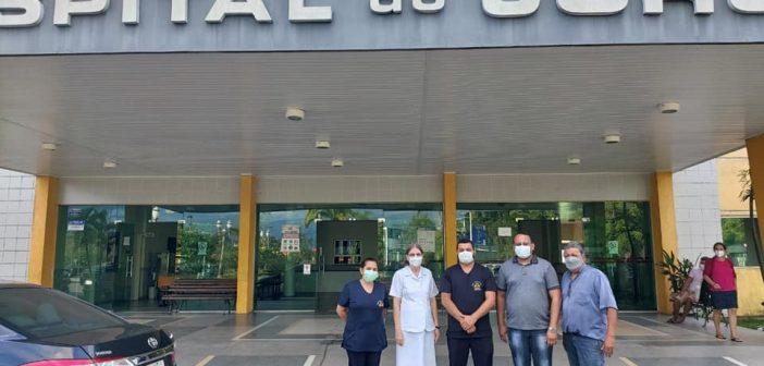 Diretor do hospital de Ipixuna faz visita técnica ao hospital regional do Juruá em Cruzeiro do sul