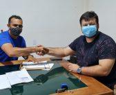 Prefeito em exercício Rodrigo Saraiva assina Termo de Cooperação Técnica que estabelece a Coleta de Resíduos Sólidos