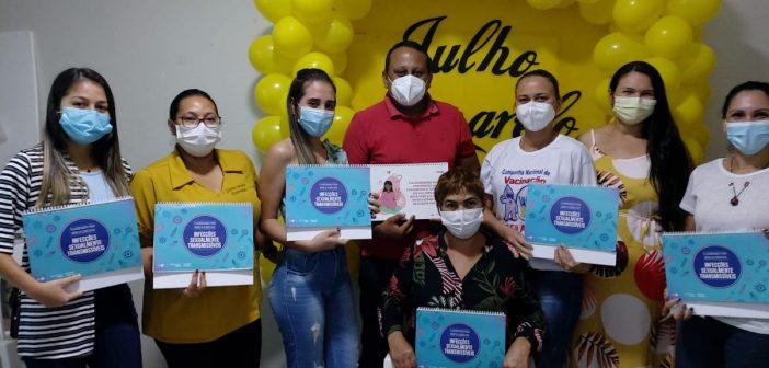 Julho Amarelo: Prefeitura de Ipixuna promove campanha de luta contra as hepatites virais