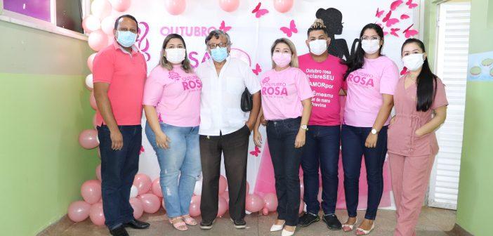 Outubro Rosa: Unidade hospitalar de Ipixuna promove ação de incentivo exclusivo para servidoras